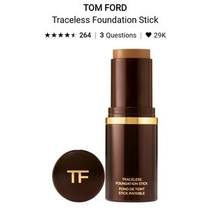 Tom Ford Traceless Foundation in Mocha 10.5(used)